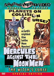 Hercules against the Moon Men / The Witch's Curse