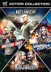WWE Multi-feature: Action Collection (Inside Out, The Reunion, Bending the Rules, No Holds Barred)