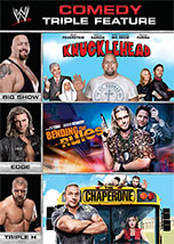 WWE Multi-feature: Comedy Triple Feature (Knucklehead, Bending the Rules, The Chaperone)