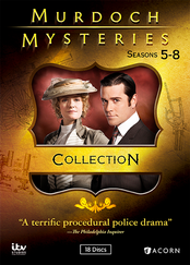 Murdoch Mysteries, Seasons 5-8 Collection
