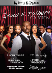 David E. Talbert Collection (Suddenly Single / Love in the Nick of Tyme / What My Husband Doesn't Know / A Fool and His Money / What Goes Around Comes Around / Mr. Right Now